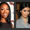 Beef Alert! Kim Kardashian And Brandy