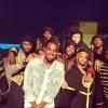 Kanye West Debut's G.O.O.D Music Family