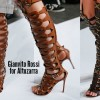 Gianvito Rossi Gladiator Boots By Altuzarra