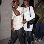 Whitney and Ray J Leave Villa