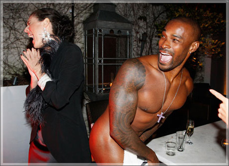 Tyson beckford sex scandal