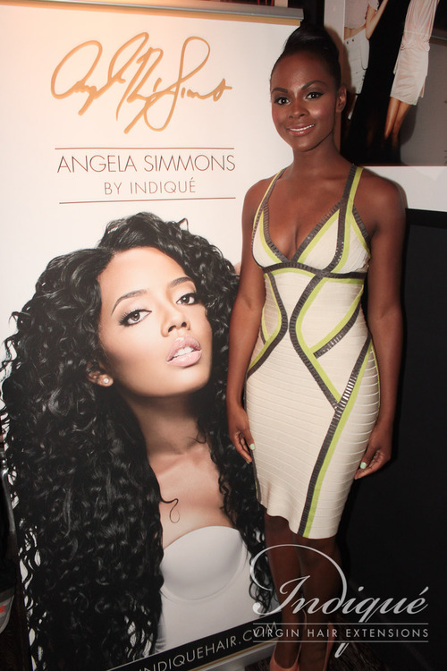 Angela Simmons Launch Party For Bikini Hair Collection With