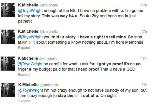 K Michelle And Memphitz Twitter Beef Memphitz and K Michelle