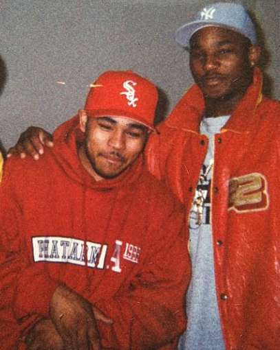 Cuda love [on left and Rapper Camron