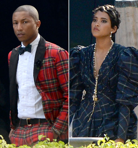 Grammy Award Winning Record Producer Pharell Williams Tied The Knot With His Longtime Girlfriend Childs Mother Model Helen Lasichanh Private Wedding