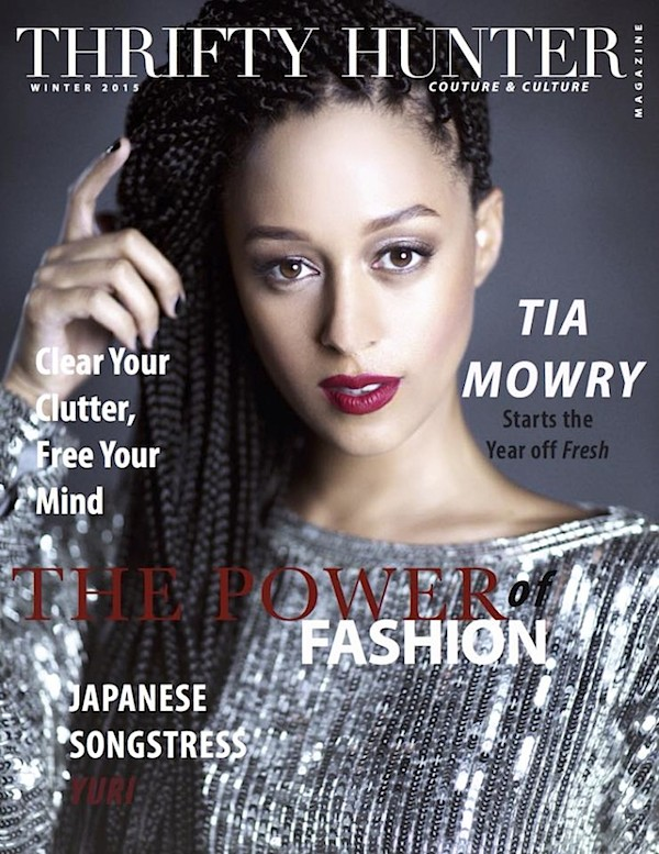 Tia-Mowry-Thrifty-Hunter-Mag-2015