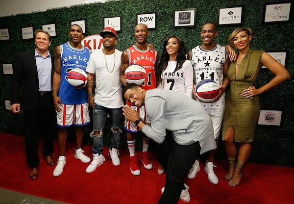 Photo credit: Stuart Ramson/Invision for Harlem Globetrotters/AP Images)
