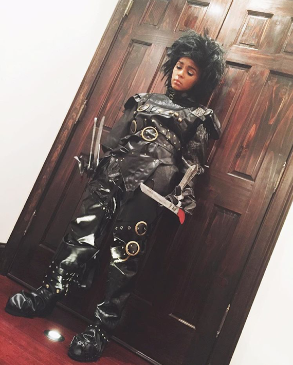 Janelle Monae as Edward ScissorHands