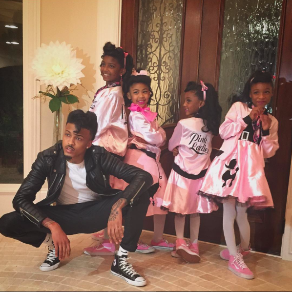 August Alsina and Neices star in Greece
