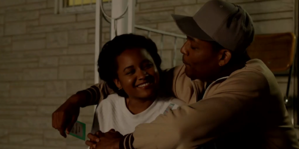 Rhyon Nicole Brown [as Michel'le and Curtis Hamilton [as Dr. Dre]