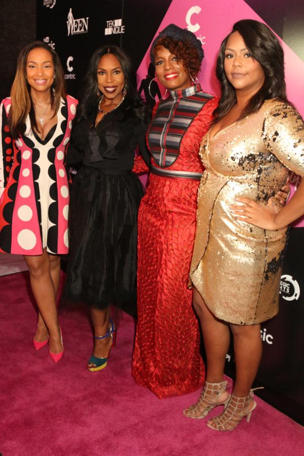 WEEN co-founders L-R Valeisha Jones, Lauren Lake Sabrina Thompson, Kristi Henderson